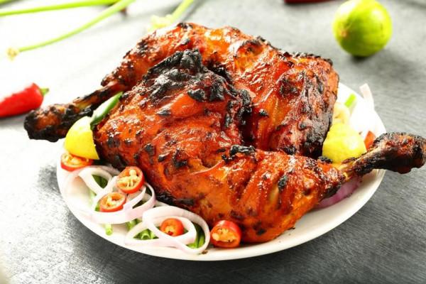 طريقة تحضير دجاج التندوري بدون فرن