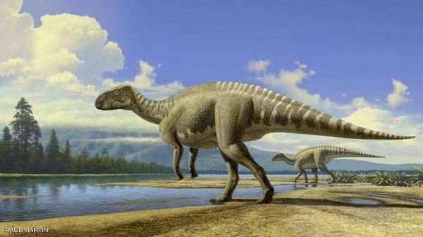 شاهد: مواطن ليبي يعثر على هيكل ديناصور صغير مريب