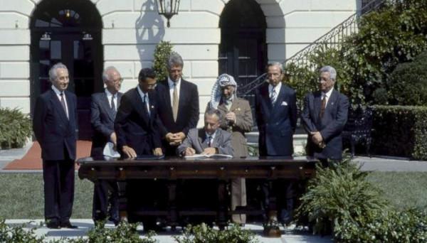 28 عامًا على توقيع اتفاق أوسلو