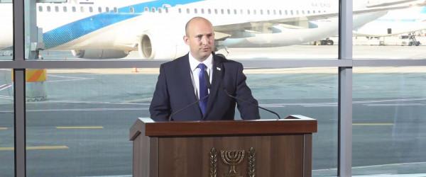 بينت يتحدث عن موقفه من إقامة دولة فلسطينية وإمكانية عقد لقاء مع الرئيس عباس
