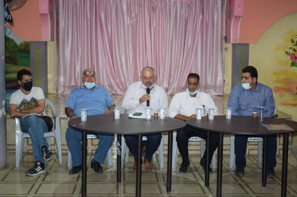 الإغاثة الزراعية تطلق مشروع تأهيل أراضي زراعية في سرطة بمحافظة سلفيت
