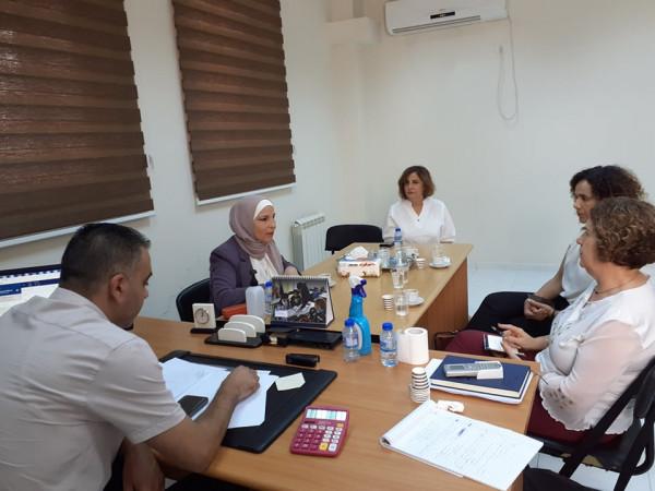 الشرشير تلتقي رئيسة مجلس إدارة جمعية القوة الداعمة ومقرها مدينة الناصرة