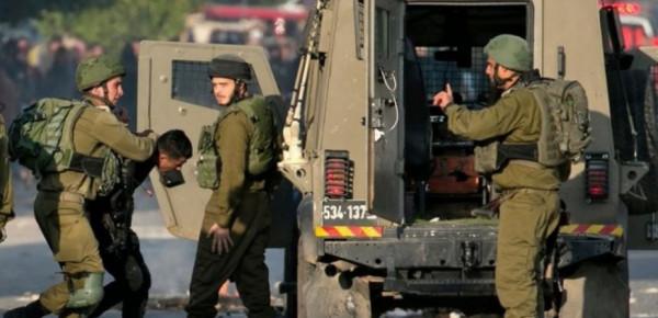 قوات الاحتلال تعتقل ثلاثة شبان من بلدة بيتونيا غرب رام الله