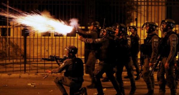 جنين: اندلاع مواجهات مع الاحتلال قرب حاجز الجلمة