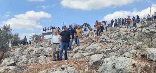 """مصطفى البرغوثي: """"بيتا"""" تقدم النموذج الأفضل للمقاومة الشعبية"""