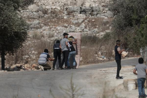 إصابة شاب برصاص الاحتلال والعشرات بالاختناق خلال قمع جيش الاحتلال لمسيرة كفر قدوم الأسبوعية