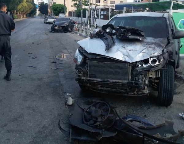 غزة: 45 إصابة بـ 70 حادث سير الأسبوع الماضي
