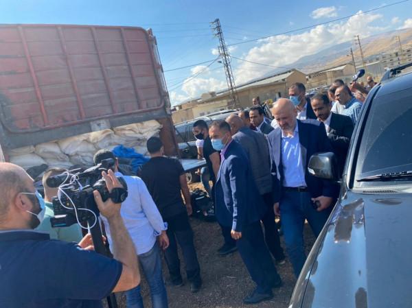 """وزير الداخلية اللبناني: ضبطنا 20 طنا من مادة """"نترات الأمونيوم"""" شديدة الانفجار"""
