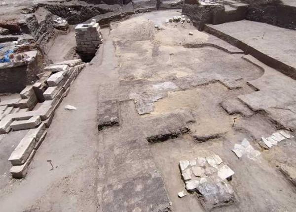 شاهد: اكتشاف أثري جديد في معبد بكفر الشيخ في مصر