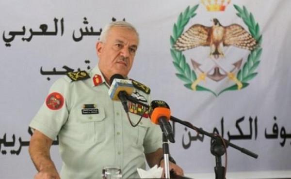 رئيس هيئة الأركان الأردني يبحث أمن الحدود مع وزير الدفاع السوري