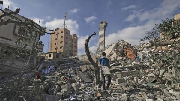 سلامة معروف يكشف آخر تطورات عملية إعادة إعمار قطاع غزة