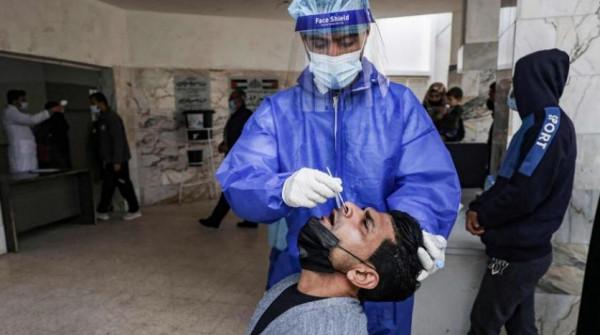 الصحة بغزة: تسجيل 8 وفيات و1300 إصابة جديدة بـ(كورونا)