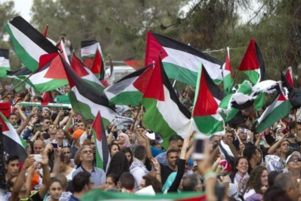 الجالية الفلسطينية في بلجيكا تنظم وقفة دعم وإسناد للأسرى أمام الاتحاد الأوروبي