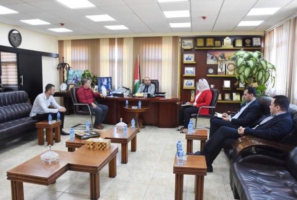 محافظة سلفيت تلتقي وكيل النيابة العامة ومدير دائرة سلفيت الانتخابية