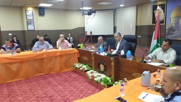 أبو بكر يترأس اجتماع مجلس الطوارئ في إطار التحضير المسبق لفصل الشتاء