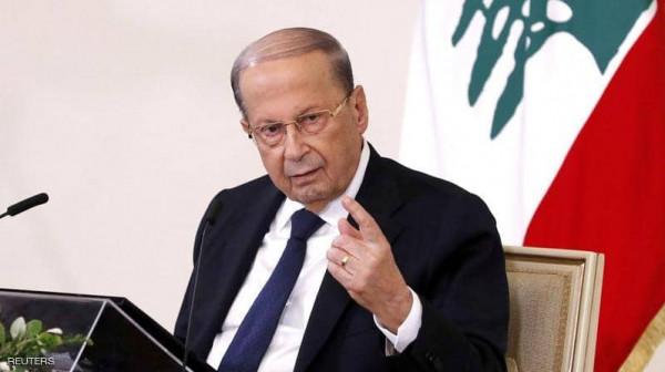 عون: توقيع إسرائيل عقود تنقيب الغاز مع شركة أميركية يتناقض مع مسار التفاوض