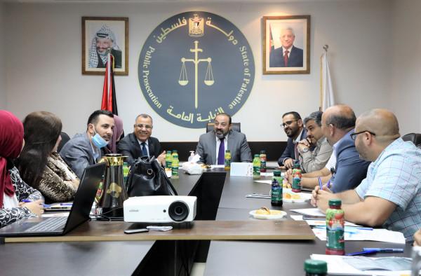 النيابة العامة تعقد تدريباً متخصصا لكادر الاعلام والعلاقات العامة في المؤسسات الرسمية