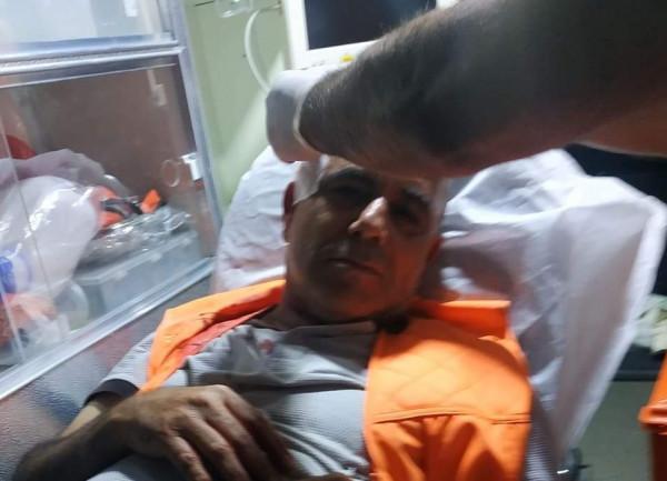 نابلس: إصابة صحفي بالرصاص المعدني خلال مواجهات مع الاحتلال