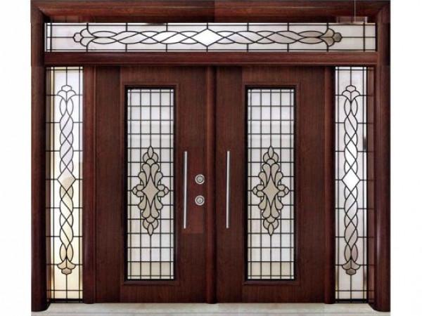 تصميمات رائعة لأبواب الحديد في المنزل