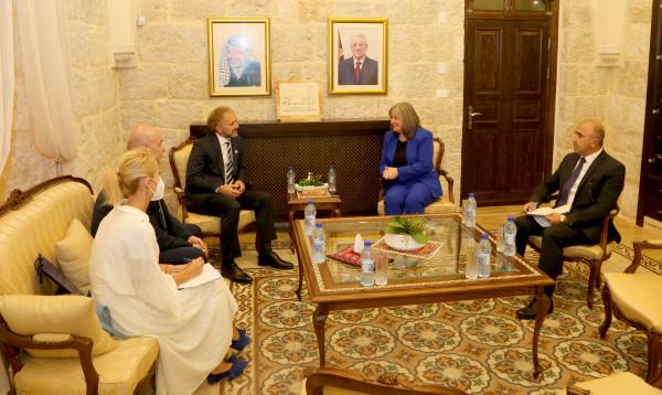 معايعة تستقبل نائب وزير خارجية البوسنة والهرسك