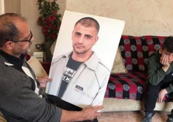 مفوضية الشهداء والأسرى تقدم التعازي لعائلة الأسير المحرر الشهيد حسين مسالمة