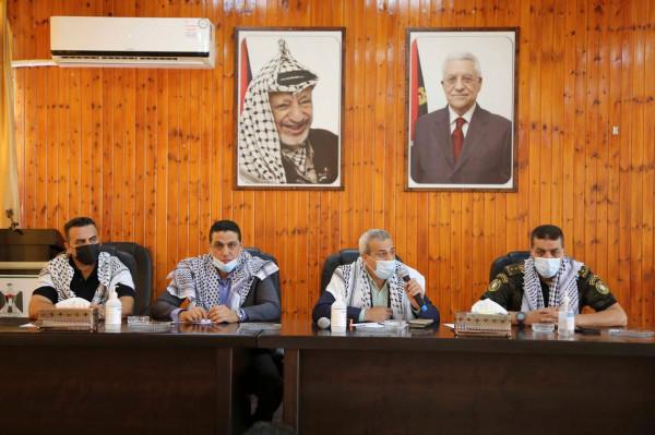 """القدس المفتوحة في قلقيلية وهيئة التوجيه السياسي والوطني يخرجان دورة بعنوان"""" القيادة والاعلام"""""""