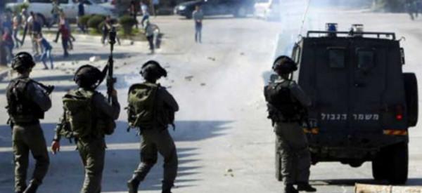 إصابات بمواجهات خلال قمع الاحتلال مسيرة كفر قدوم الأسبوعية