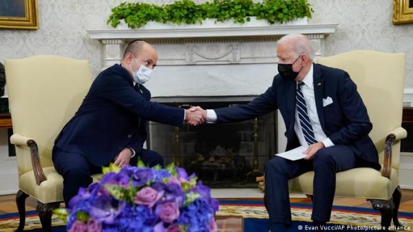 حل الدولتين في أعقاب تصريحات بينيت - بايدن