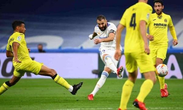 شاهد: فياريال يفرض التعادل على ريال مدريد في (الليغا)