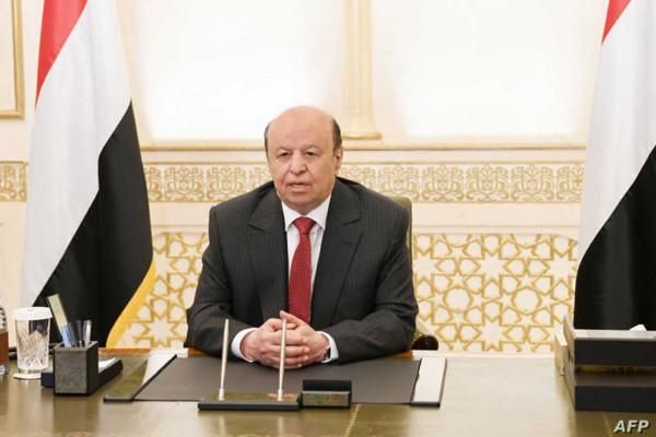 الرئيس اليمني يشكر الجيش المصرية لدعمه في ثورة 26 سبتمبر