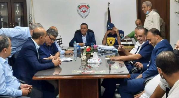 """مجلس إدارة نادي غزة الرياضي """"العميد"""" المُنتخب يختار د. خالد الوادية رئيساً"""