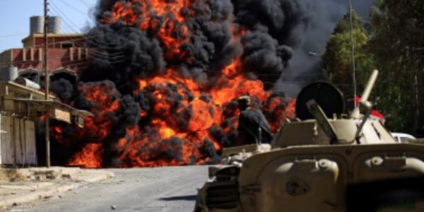 سقوط 5 قذائف هاون على منطقة سكنية شرقي العراق