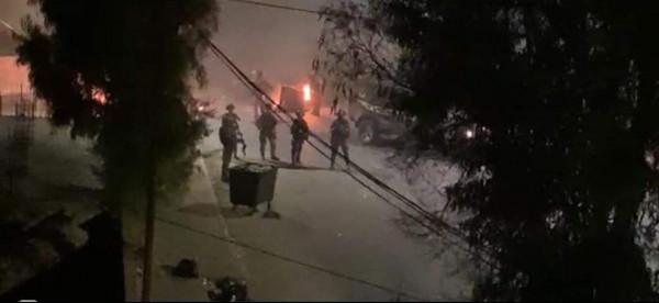 إصابة اثنين من جنود الاحتلال باشتباكات مسلحة مع مقاومين في نابلس