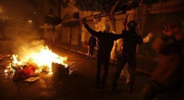 مواجهات مع الاحتلال على المدخل الشمالي لمدينة البيرة