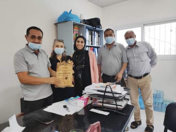 وفد من مؤسسة العمل ضد الجوع ACF يزور جمعية البريج للتأهيل المجتمعي