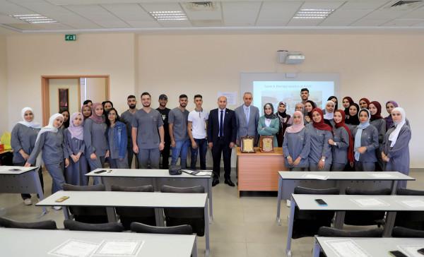 الجامعة العربية الامريكية تكرم الطلبة المشاركين في جلسات علاجية لأبناء المجتمع المحلي