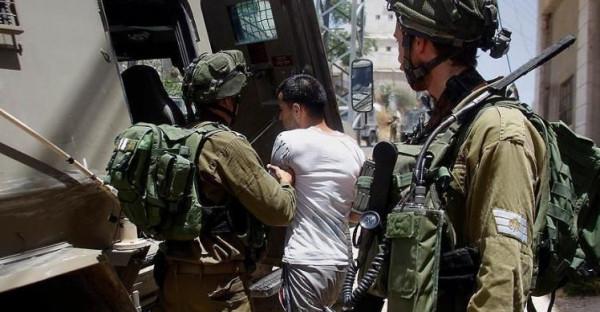 اعتقال شقيقين واستهداف آليات الاحتلال بالأكواع المتفجرة في جنين