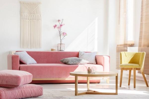 استخدامات اللون الوردي بالديكور لدعم مصابات سرطان الثدي
