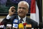 عريقات: الحكومة الإسرائيلية تتحمل المسؤولية الكاملة للأوضاع الحالية وإنهيار عملية السلام