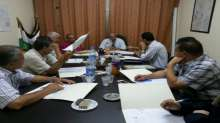 اللجنة الاقليمية للتنظيم والتخطيط العمراني في محافظة قلقيلية تعقد جلستها السابعة لهذا العام