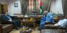 المحافظ رمضان يستقبل معالي الاخ سلطان ابو العنين عضو اللجنة المركزية لحركة فتح