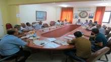 الاتحاد العام لنقابات عمال فلسطين يعقد اجتماعا موسعا لرؤساء واعضاء دائرتي التثقيف والتدريب والعمل والتشريع