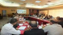 صور اجتماع المحافظ في بلدية جنين