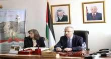 رئيس الوزراء يتفقد وزارة السياحة و الاثار في بيت لحم