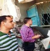 منتسبو الشرطة الخاصة في خان يونس ينظمون جولة تفقدية لابناء الجهاز في المحافظة