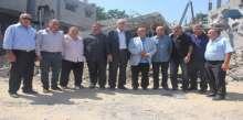 محافظ شمال غزة يدعو لتكثيف الجهود لتخفيف من معاناة المنكوبين