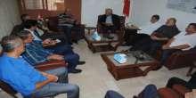 اللواء ابو عرب على رأس وفد فتحاوي يزور الحزب التقدمي الاشتراكي