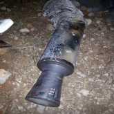 فرحة عارمة.. شاهد لحظة عثور سكان قرية كفر نعمة شمال غرب رام الله على الصاروخ الذي أطلق من غزة