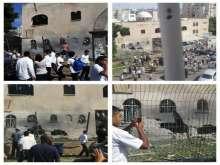 صور وفيديو:سقوط صاروخ على أسدود أصاب كنيس يهودي مباشرة مما أدى إلى أضرار جسيمة في المكان وعدة إصابات