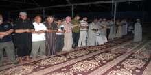 طيبة الإنسانية العالمية وبالتعاون مع جمعية الفلاح الخيرية بفلسطين تواصل اقامة المساجد البديلة
